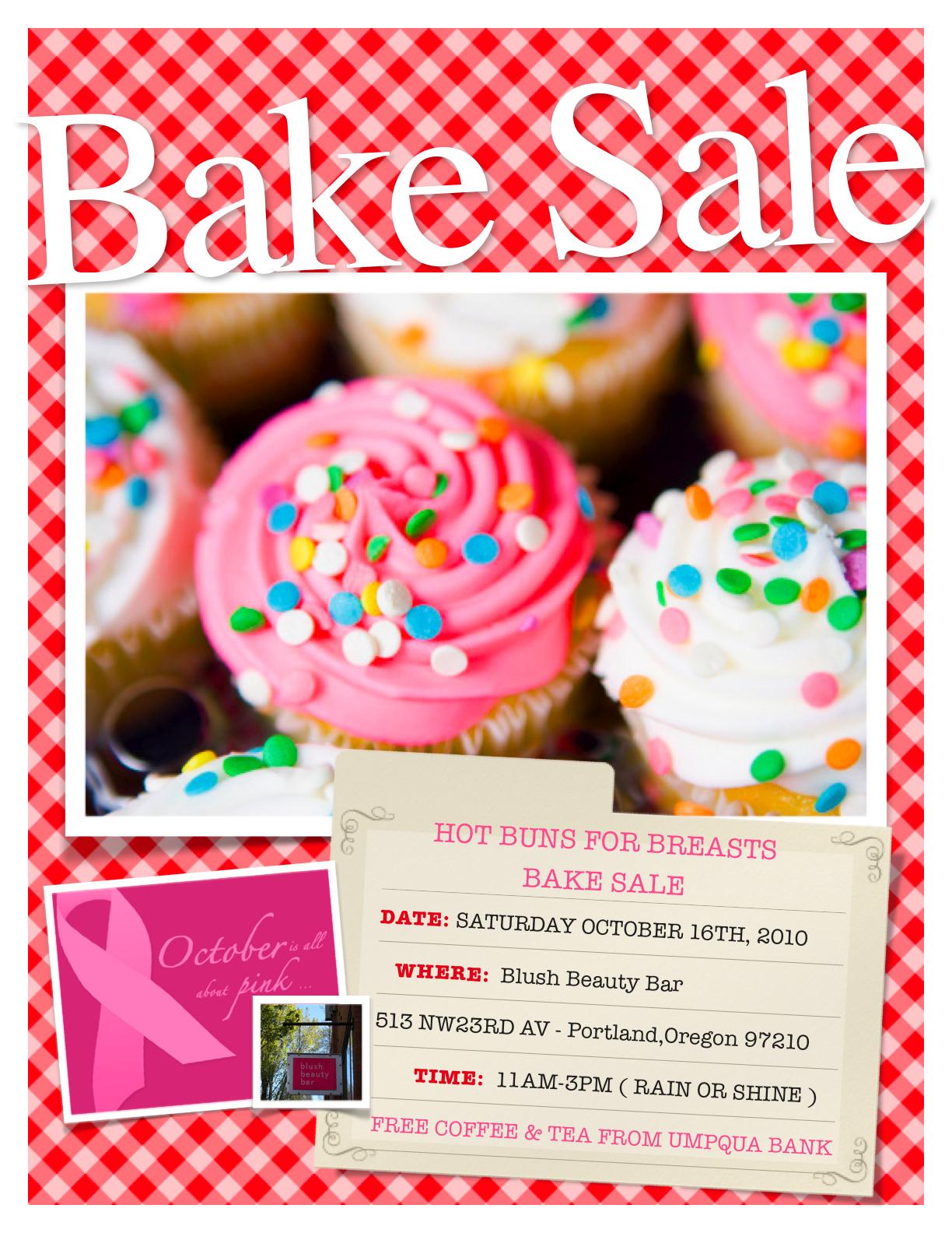 Make A Flyer For Food Sale